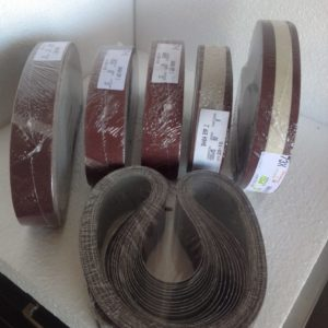 Bandas para máquinas afiladoras