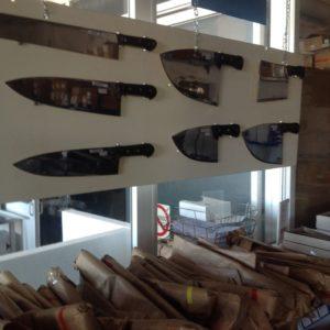Cuchillos filetear . Polleros y deshuese